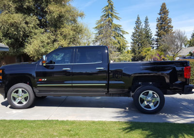 2016 Chevy 2500HD gets its Shine ON!