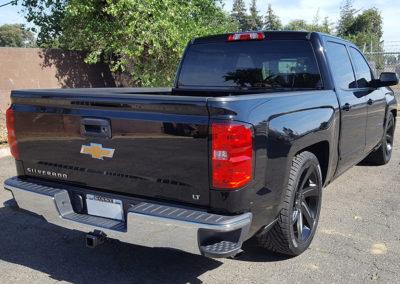 2017 Black Chevy Silverado gets its shine back!