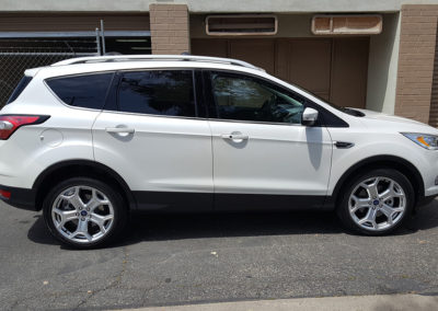 2018 Ford Escape gets a 5 year Ceramic car Coating!