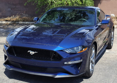 2018 Ford Mustang Coated with a 5-Year Ceramic Coating