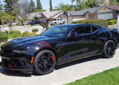 Sapphire V1 Ceramic Car Coating By Flight Shield. 2018 Camaro SS was given a NEW LOOK!